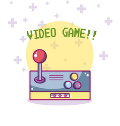 videogame cartoons concept vector image