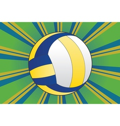 Volleyball Ball Background2 vector