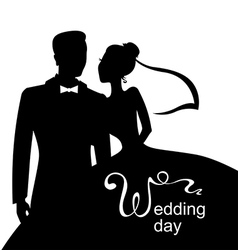 wedding day vector image