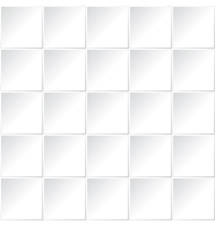 white square pattern vector image