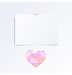 mood board template vector image vector image