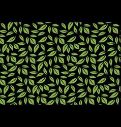 greenery leaf seamless pattern wallpaper vector image