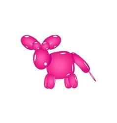 Pink Balloon Donkey vector image