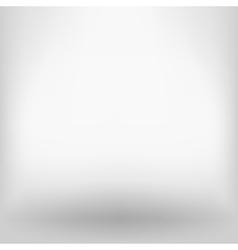 White empty backdrop vector image