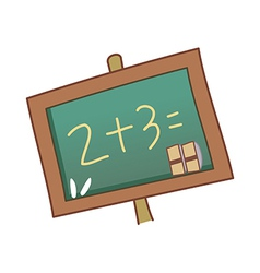 A blackboard vector