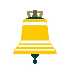 Church bell icon vector