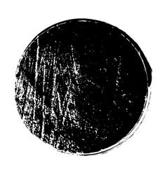 Distress circle stamp vector