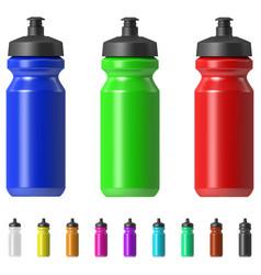 sport water bottle vector image