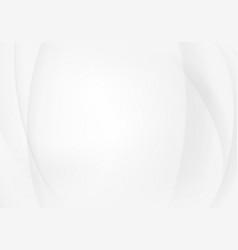 white elegant business background wave lines wavy vector image