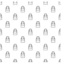 eco bag pattern seamless vector image