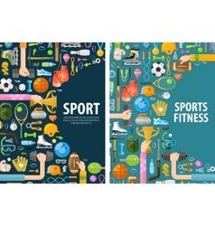 Sport logo design template gymnastics or vector
