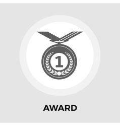 Award flat icon vector image