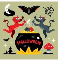 Devils kitchen Cartoon vector image