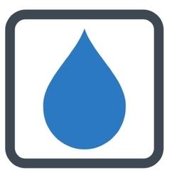 Drop Flat Icon vector