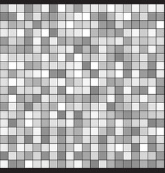 gray square pattern seamless vector image