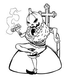 Halloween Man vector