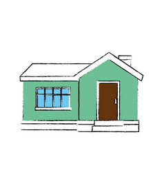 House architecture building vector