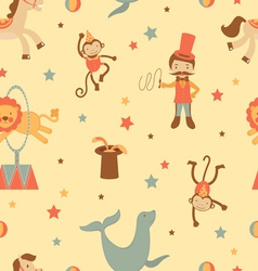 Circus background vector image vector image