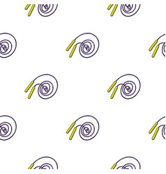 jump rope icon in cartoon style isolated on white vector image vector image