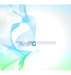wave of lights business wallpaper vector image vector image