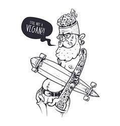 Bizarre Hipster Art vector image