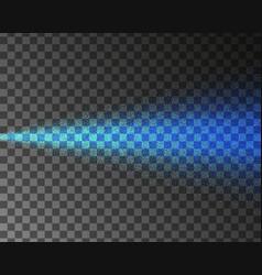 Blue water spray mist atomizer neon effect vector