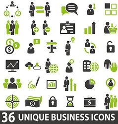 BusinessIcons vector image