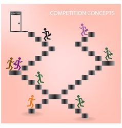 Competition sign vector