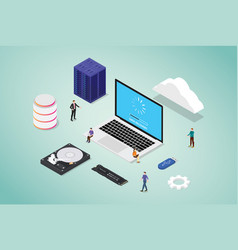 Data recovery from bad sector server database vector