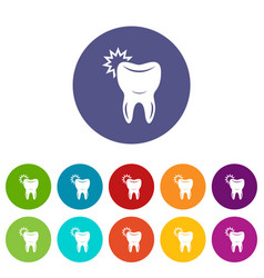 dentistry icon simple style vector image