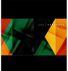 Hi-tech geometric futuristic business background vector image