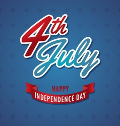 Independence day American Backgrounds vector image