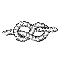 Knot engraving vector