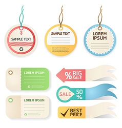 Price tag Pastel color vector