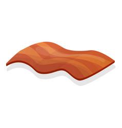 bacon icon cartoon style vector image