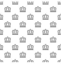 Britain crown pattern seamless vector