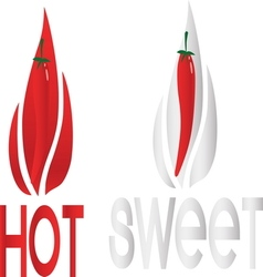 hot 02 resize vector image