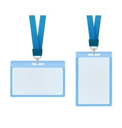 Id cards vector