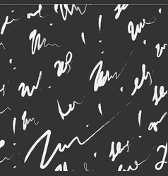 Scribble seamless pattern ink scribble continuous vector