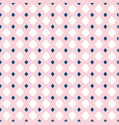 seamless pattern for girls and boys rose pink vector image