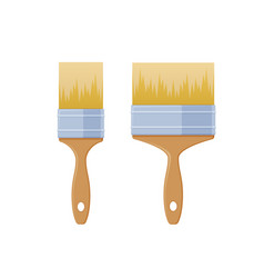 Set narrow and wide brushes for working vector