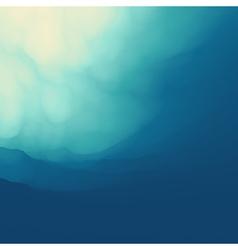The Underwater World vector image