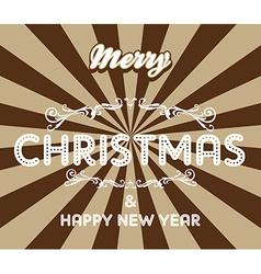 christmas theme vector image vector image