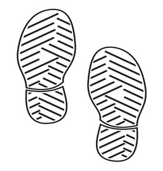 New foot print4 resize vector