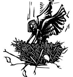 Angel Nest vector image vector image