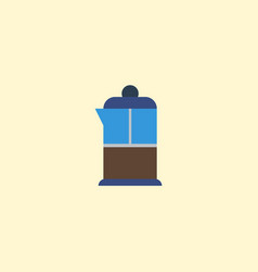 Flat icon pot element of flat vector