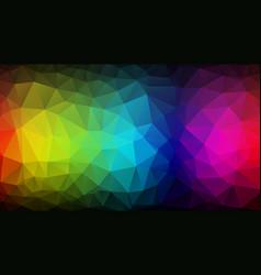 geometric dark color spectrum texture background vector image