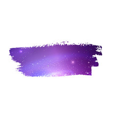 grunge banner with violet space vector image