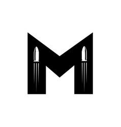 M ammo logo vector