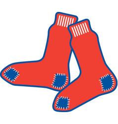 Sox logo mascot vector